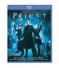 PRIEST NEW BLU RAY DISC UNRATED MOVIE SCI-FI PAUL BETTANY,MAGGIE Q,CAM GIGANDET
