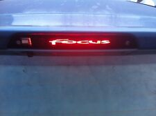 """YOUR NAME/LOGO"" FOCUS"" MK2 THIRD BRAKE LIGHT STICKER/OVERLAY-LOOKS AWSOME"