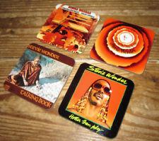 Stevie Wonder Album Cover Coaster Set