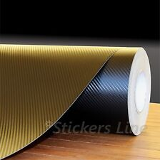 Pellicola adesiva carbonio NERO 3D mt 15,00x152 cm ANTIGRAFFIO+SPATOLA OMAGGIO!