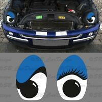 Coole Eyes Sticker Aufkleber Decal f. BMW MINI COOPER R50 R52 R53 One Works Jack