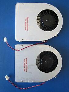 Lot of 2 NVIDIA 095-0106-00 DCV-00705-N1-GP Fan w/ Heatsink