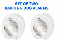 SET OF TWO !!  Electronic BARKING DOGS ALARMS  for Home Safety