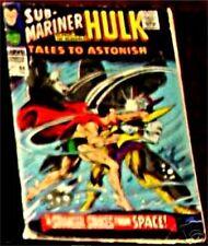 TALES TO ASTONISH 88 VG 1959 SERIES RARE INCREDIBLE HULK & SUB MARINER