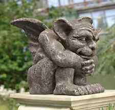 New listing Gargoyle Garden Sculpture Home Decor Statue Figure Lawn Yard Outdoor Patio Art