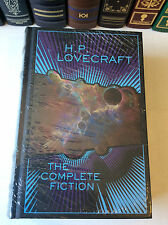 H.P. Lovecraft - The Complete Fiction - leather-bound - NEW - ships in a box