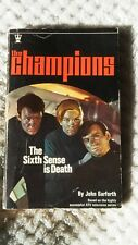 The Champions. Sixth Sense Is Death by John Garforth 1969 1st Edition Paperback.