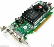Low Profile Y103D ATI Radeon HD3450 256MB PCI-E Dual Screen VideoCard 4 Dell HP