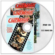 CINEMAGIC magazine 32 Issues PDF on CD  Film Making Special FX Super 8 SCI FI