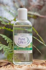 Grapeseed Oil, Certified 100% Natural and Pure, Cold Pressed Carrier Oil