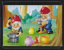 Jouet kinder puzzle 2D Nains de métier n°2 Allemagne 1993 + étui