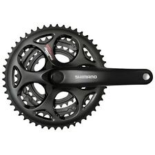 Shimano Tourney FC-A073 triple 50/30T 165 mm Bicicleta de Carretera Manivela no Protector de cadena