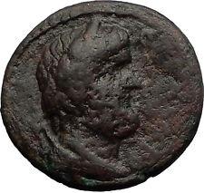 IRENOPOLIS in CILICIA - Marcus Aurelius Time Greek Coin - KRONOS HERCULES i58457
