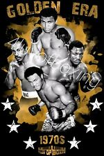 Golden Era Boxing Poster New 4LUVofBOXING 11x17 Ali Foreman Frazier Norton