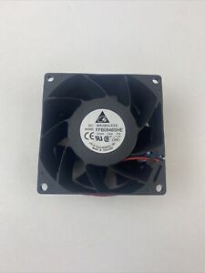 DELTA FFB0848SHE Daul ball Cooling fan DC48V 0.24A 80*80*38MM 2pin