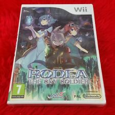 wii RODEA The SKY SOLDIER New & Sealed Rare Release PAL UK English Version