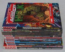 MARVEL COMICS LOT OF 25 NEW GRAPHIC NOVELS. SPIDER-MAN FANTASTIC FOUR NYX