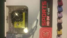 Full HD 1080 P sports video camera kit, water proof, new in box. Free 16GB card