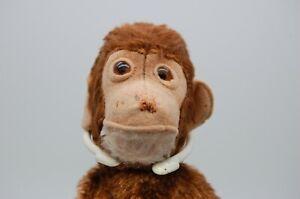 1940's Steiff Monkey Hand / Glove Puppet  US Zone Label - Old Vintage Teddy Bear