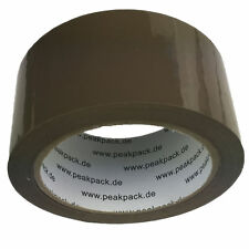36x Rollen Paket- Klebeband 66m x 48mm Packband Paketband Kleberollern Braun