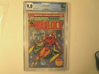 1975 WARLOCK # 9  GRADED BY  CGC 9.0, 1ST WARLOCK ISSUE, NEW COSTUME,