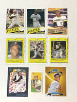 (9) ROBERTO CLEMENTE Cards Lot - INSERTS + PARALLELS Pittsburgh Pirates