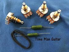 Upgrade Guitar Wiring Kit for Gibson Les Paul - 500K Pots  PIO Vintage Tone Caps