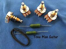 Upgrade Guitar Wiring Kit for Gibson Les Paul 500K Pots  PIO Vintage Tone Caps