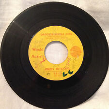 Jimmy Interval 45rpm Daddy's Little Girl/One Sided Love - World Artists Records