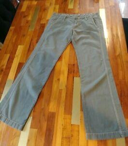 James Perse Men's Olive Linen Pant Size 31