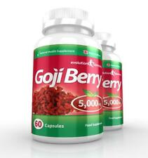 Goji Berry Extracto 5000mg Potencia 120 cápsulas EVOLUTION slimming
