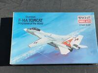 Minicraft Models 1:144 Grumman F-14A Tomcat Aircraft Model Kit 14422 New Sealed