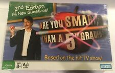 Are You Smarter Than a 5th Grader? Board Game BY Parker Brothers NEW IN BOX