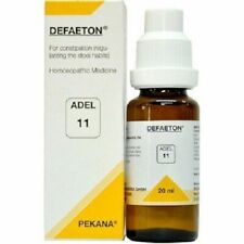 Adel 11 DEFAETON Homeopathy Homeopathic Medicine for Constipation Bowel Wellness