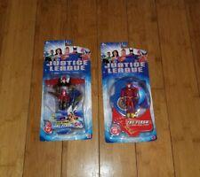 The Flash & Mega Armor Action Figure DC Justice League  lot of 2 JLU Mattel  1A