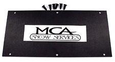 SNOWEX ABS PLASTIC BOTTOM COVER W RETAINERS  D6109 D6467 75641