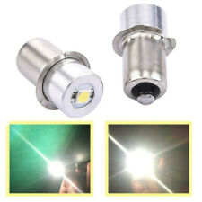 2X 6V 4.5V 3V P13.5S 0.5W 1W Upgrade LED Flashlight Bulb Torch Globe 150LM White