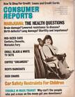 Lot 4 1974-1975 Consumer Reports Magazines/ Cars Appliances Sleds TV Cribs Honda photo
