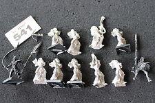 Games Workshop Warhammer Elfi oscuri Carnefici RICAMBI Esercito Elfo Figure in metallo
