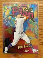 PETE ALONSO  2020 Topps Finest Baseball The Man #FTM-28 New York Mets