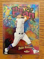PETE ALONSO  2020 Topps Finest Baseball The Man #FTM-28 New York Mets