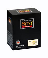 100 SICO Dry Kondome - trockene, nicht beschichtet - unbeschichtete Kondome
