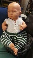 Poupée reborn bébé réaliste 50 cm