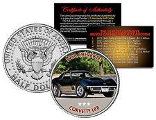1968 CHEVROLET CORVETTE L88 Expensive Auction Muscle Car JFK Half Dollar US Coin
