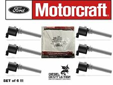 Brand New * Set of 6 * Genuine OEM Motorcraft DG-513 Ignition Coil * Ships Fast