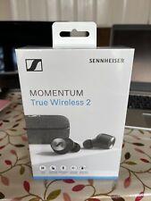 Sennheiser Momentum True Wireless 2 In-Ear Headphones (M3IETW2) (Black) New