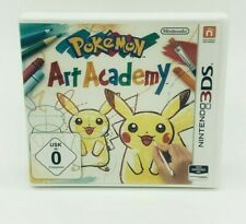 Pokemon Art Academy Nintendo 3DS Gut OVP ohne Anleitung Deutsch Zeichnen