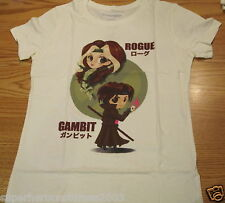 X-Men Days of Future Past Ladies T-Shirt Rogue and Gambit Marvel Comics LG 0005