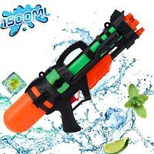 Wasserpistole Spielzeug Wasserpistole 10 m Spritzpistole mit Tank Kinder 1100ml