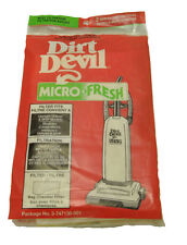 Dirt Devil Microfresh Bag Chamber Filter Pads 3747130001